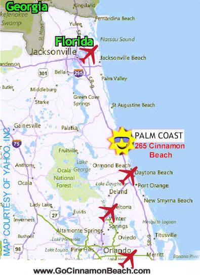 Cinnamon Beach Florida Map Travel Guide